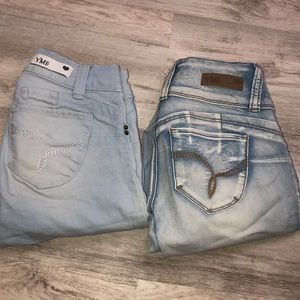Bundle of 2 pairs of jeans! 👖🤩